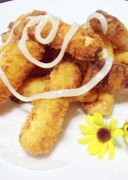 【歡樂親子料理】香酥黃金豆腐薯條