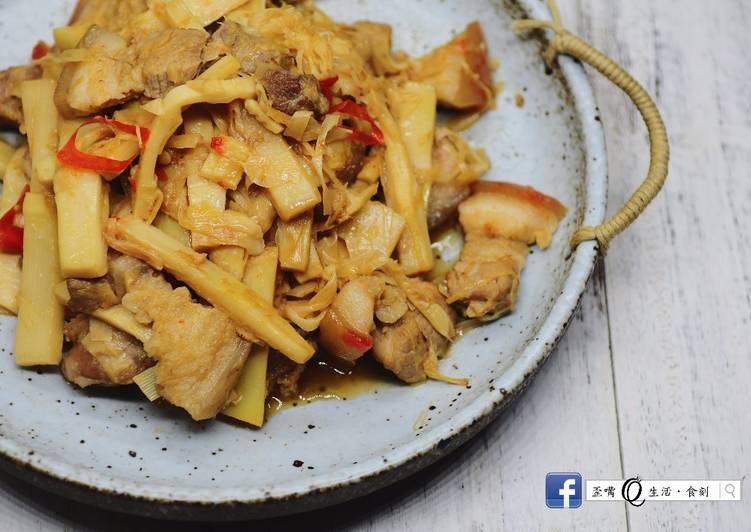 鮮炒桂竹筍