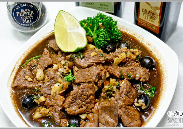 義式小菜-紅酒醋牛肉