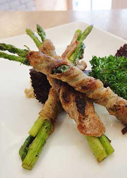 有心食譜:培根捲蘆筍.金針菇