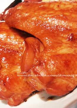 豆乳雞翅~免醃~超簡單~【氣炸鍋食譜】