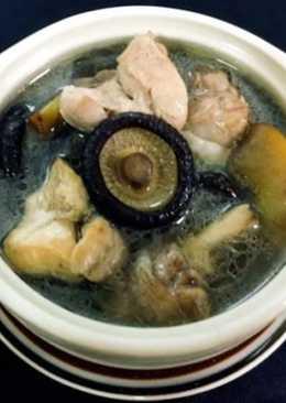 蘋果香菇雞湯