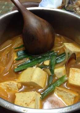 韓式辣豆腐鍋