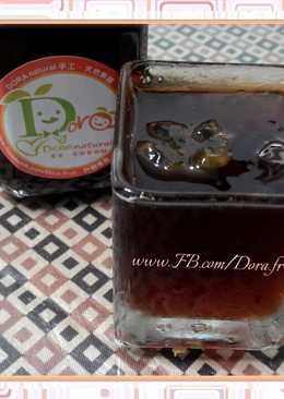 紅茶凍佐梅醬
