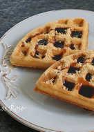 【無蛋﹠無麩質】黑糖格子鬆餅(Waffle)