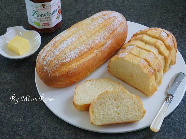 煉奶哈斯麵包