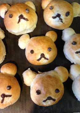 可愛的 Rilakkuma Bear Bread-拉拉熊麵包❤!!!