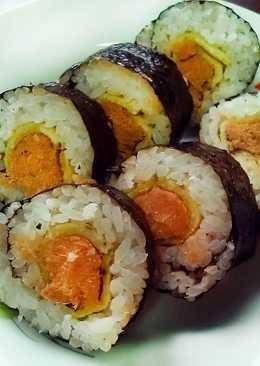 肉鬆蛋壽司捲★