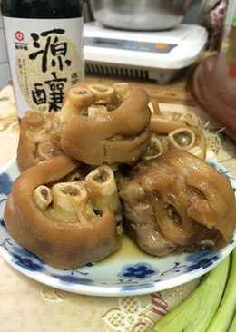 【源釀醬油】電鍋快速滷豬腳
