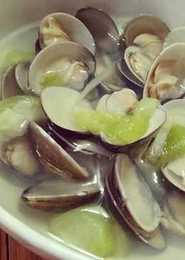 絲瓜蛤蜊【澎湖名產】【豆豆愛的料理】湯