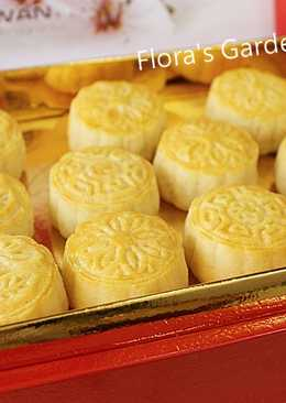 半島酒店奶黃月餅做法-附原食譜和師傅撇步