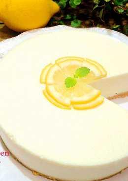 蜂蜜檸檬乳酪免烤蛋糕
