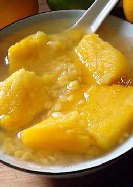 薑汁地瓜綠豆仁湯(電鍋版)