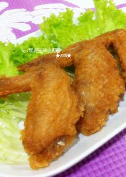 ★鹹蛋酥炸雞翅膀★
