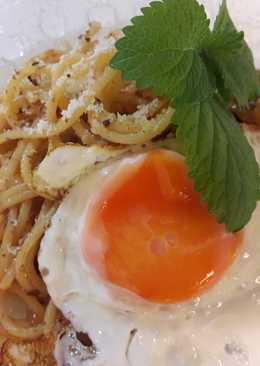 義大利肉醬麵 佐 太陽蛋