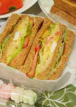 地瓜鮪魚沙拉三明治