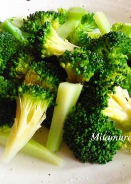 3匙水燙青菜法
