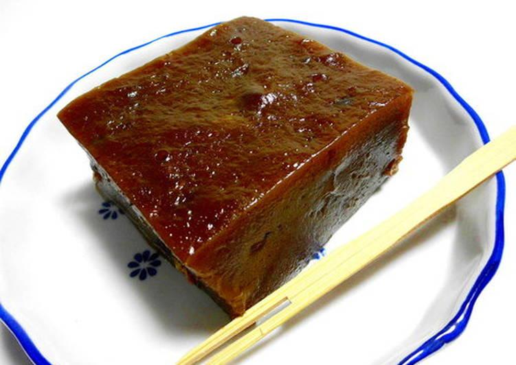黑糖紅豆沙年糕