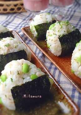 日式毛豆飯糰