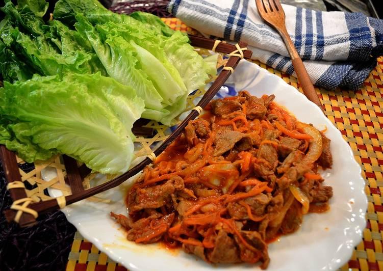 韓式燒牛肉