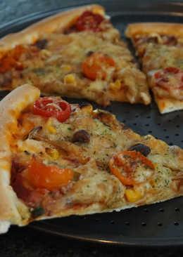 鴻喜菇披薩