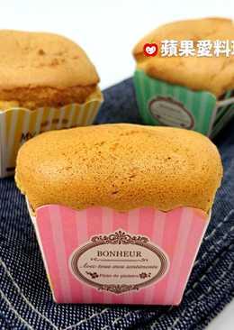 蜂蜜杯子蛋糕(無油無泡打粉低糖)(影音)