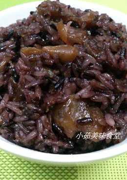 酒香桂圓紫米糕