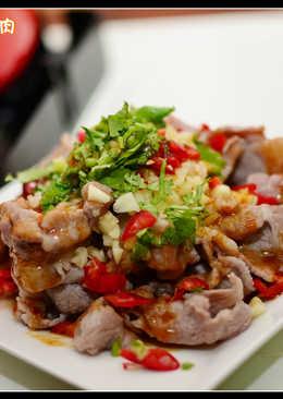 料理 - 蒜泥白肉