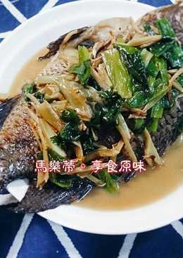 蔥燒海吳郭魚