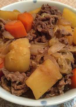 日式馬鈴薯燉肉(肉じゃが)