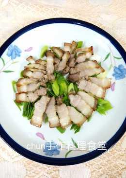 脆皮豬肉片