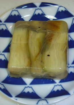 日式 烤茄子寒天寄(kan ten-yose)