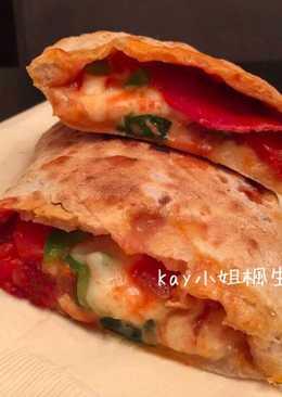 義式口袋披薩 Calzone (天然酵母版)