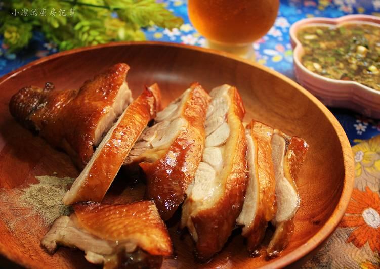 【御釀燒烤滋味】茶香燻雞