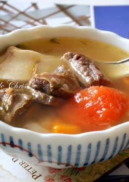 [湯品] 牛腩清湯