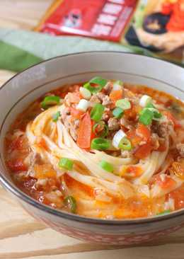 紅燒蕃茄湯麵
