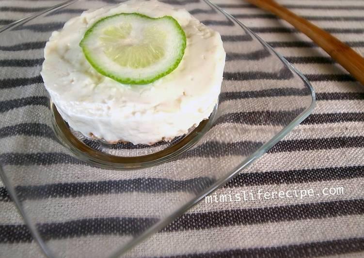 免烤檸檬起司杯子蛋糕