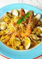 海鮮黃金燉飯