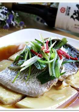 【御釀滷煮入味】鱸魚肚豆腐蒸