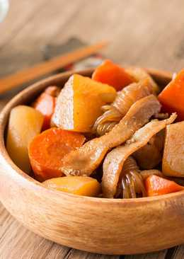 【影片】日式家常料理 – 馬鈴薯燉肉