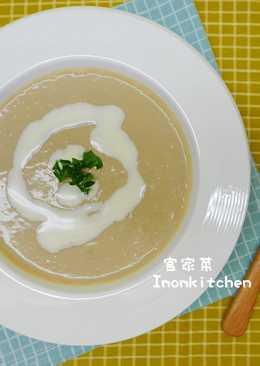 奶油洋菇濃湯
