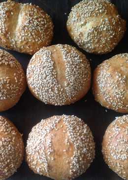 Okara Sesame Cookies-芝麻豆渣麵包❤!!!