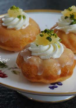 【簡易】檸檬甜甜圈蛋糕