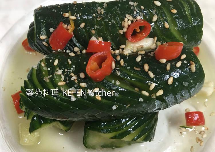 15分快速醃製小黃瓜