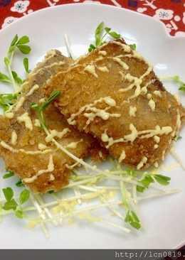 鯛魚排佐蜂蜜芥末美奶滋