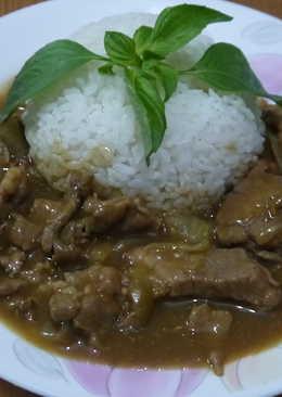 【好侍咖哩】珈哩豬肉飯
