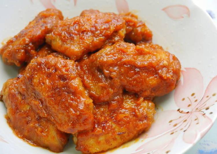 薑汁醬燒雞翅