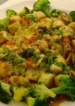 焗烤三菇六婆(豆油伯醬油食譜)