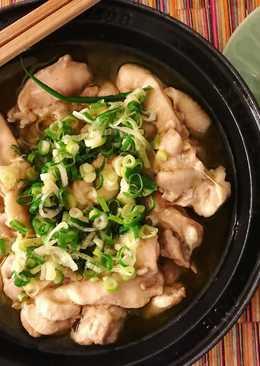 生酮補油-蔥油胡椒雞