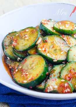 韓式涼拌小黃瓜